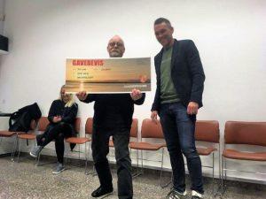 Stig Weye fik hæderslegat på 20.000 kr.