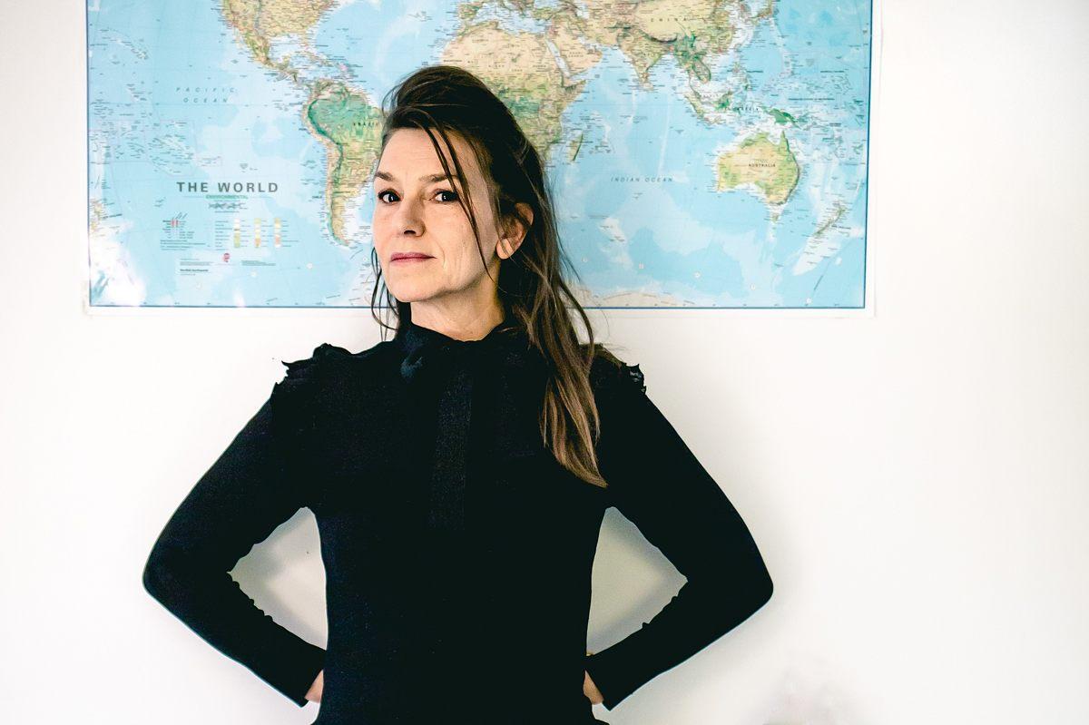 Elisabeth Gjerluff Nielsen i Nysted Biograf